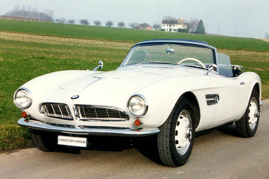Bmw 507 Roadster 1957 Christoph Grohe